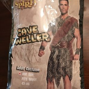 Other - Men's Caveman Costume (New in package!)
